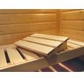 Sauna Kopfstütze Classic Karibu aus Espenholz