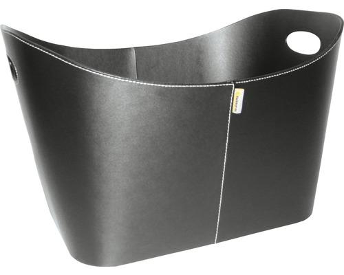 Holzkorb Aduro Baseline schwarz