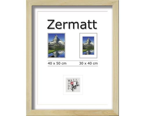 Bilderrahmen Holz Zermatt Eiche 40x50 cm