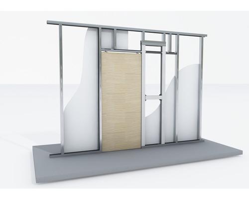 Knauf Pocket Kit Standard Schiebetürsystem für Holztürblatt (CW 75 und CW 100)