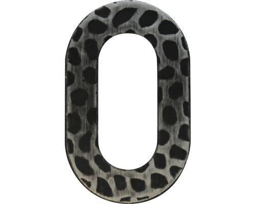 Hausnummer Eisen 0