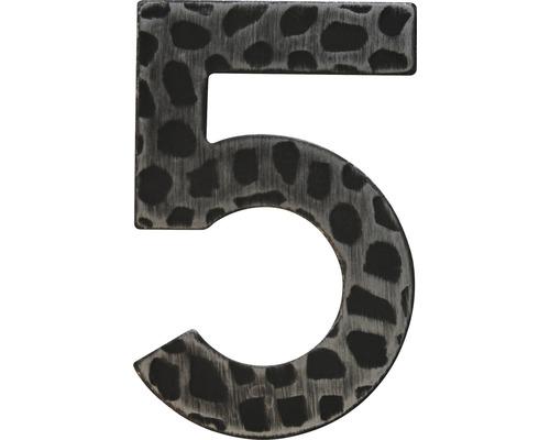 Hausnummer Eisen 5