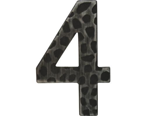 Hausnummer Eisen 4