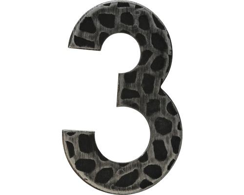 Hausnummer Eisen 3