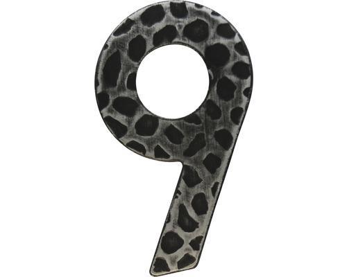 Hausnummer Eisen 9
