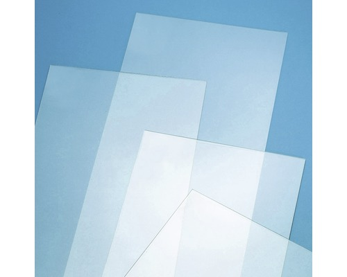 Hobbyglas 2x250x500 mm glatt klar