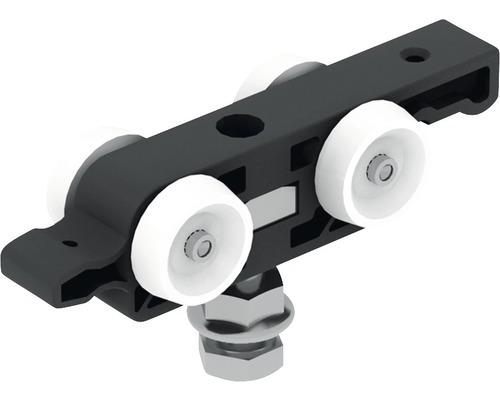 Pocket Kit Schiebetürsystem Knauf Ersatz-Laufwagen 80 kg