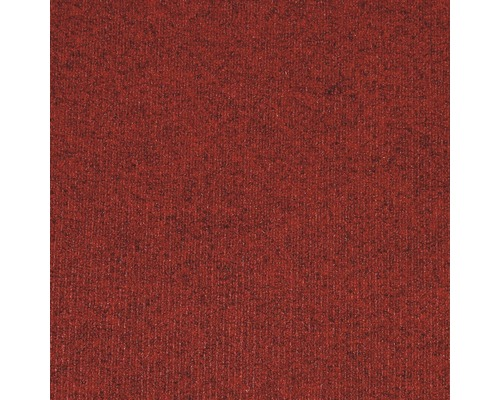 Teppichfliese Prima rot 50x50 cm