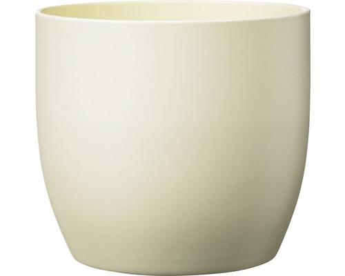 Blumentopf Soendgen Basel Fashion Keramik Ø 27 H 26 cm perlmutt