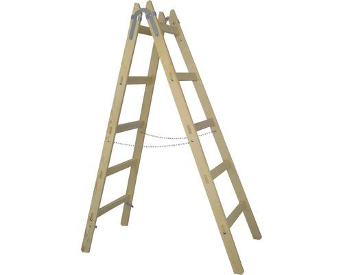 Holzleiter x-tools 5 Sprossen