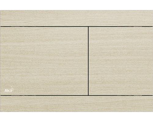Betätigungsplatte Alca Plast Komfort Fun Oak-White