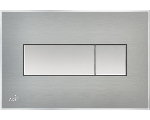 Betätigungsplatte Alca Plast Komfort M1371 edelstahl/mattchrom