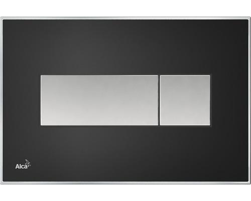 Betätigungsplatte Alca Plast Komfort M1375 schwarz-matt/mattchrom