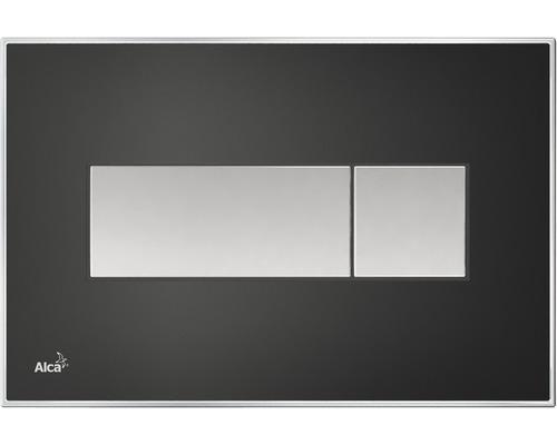 Betätigungsplatte Alca Plast Komfort M1475-AEZ114 mit rainbow Beleuchtung schwarz/chrom