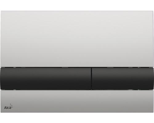 Betätigungsplatte Alca Plast Komfort M1712-8 chrommatt/schwarz