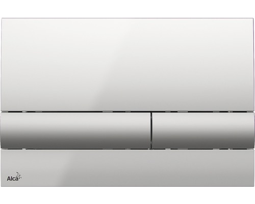 Betätigungsplatte Alca Plast Komfort M1713 chromglanz/matt