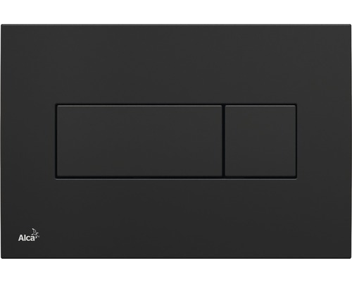 Betätigungsplatte Alca Plast Komfort M378 schwarz glänzend