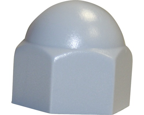 Sechskantschutzkappe 10 mm grau, 50 Stück