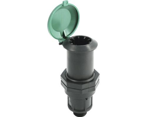 """Wassersteckdose mit Wasserstop KWL 3/4"""" Außengewinde"""