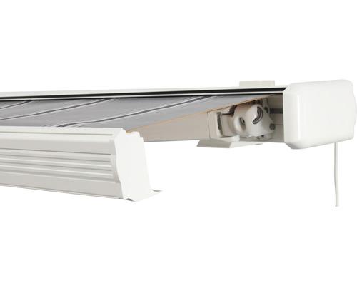 Kassettenmarkise 300x250 cm mit Motor Soluna Exquisit Dessin A131