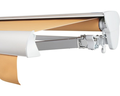 Halbkassettenmarkise 400x200 cm SOLUNA ohne Motor Dessin 0034