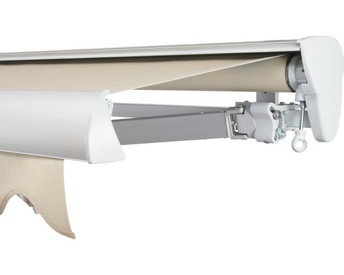 Halbkassettenmarkise 500x200 cm SOLUNA ohne Motor Dessin 320930