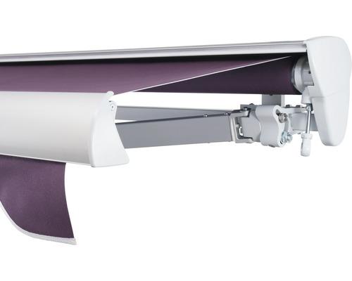 Halbkassettenmarkise 300x250 cm SOLUNA ohne Motor Dessin 7554