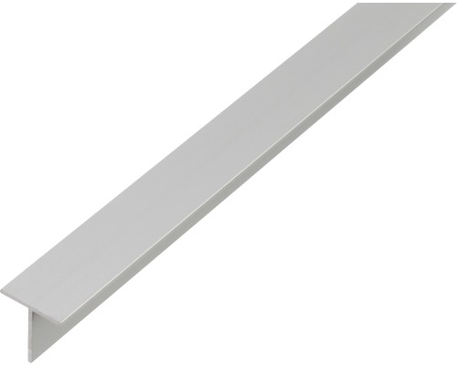 T-Profil Aluminium 15x15x1,5 mm, 1 m
