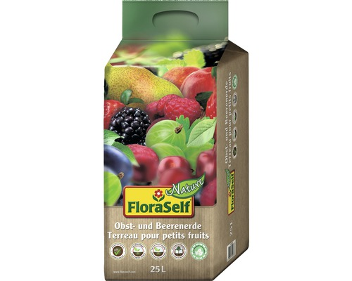 Obst- und Beerenerde FloraSelf Nature, 25 L