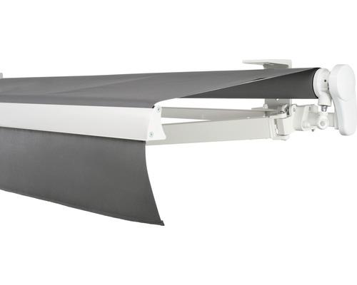 Gelenkarmmarkise 550x200 cm ohne Motor Soluna Proof Dessin 8203
