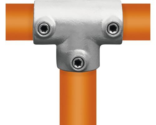T-Stück lang Rohrverbinder für Gerüstholz-Stahlrohr Ø 33 mm