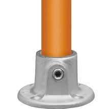 Fußplatte rund für Gerüstholz-Stahlrohr Ø 33 mm