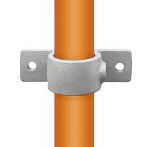 Befestigungsring mit Flansch für Gerüstholz-Stahlrohr Ø 33 mm