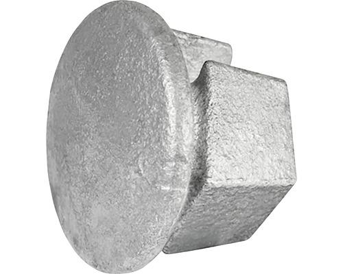 Abdeckkappe Stahl für Gerüstholz-Stahlrohr Ø 33 mm