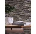 Vliestapete 9142-17 Wood'n Stone Stein graubraun
