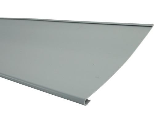 Marley Traufstreifen Kunststoff Fenstergrau RAL 7040 2000 x 250 mm