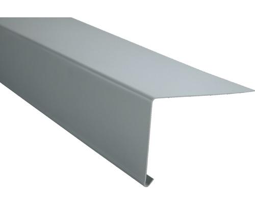 Marley Traufstreifen für Flachdach Kunststoff Fenstergrau RAL 7040 2000 x 116 mm
