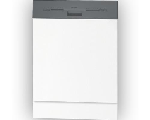Frontblende Optifit für teilintegrierten Geschirrspüler Bengt weiß 59,6x57,2x1,6 cm