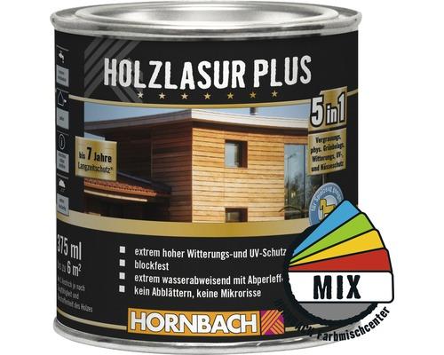 Holzlasur Plus im Wunschfarbton 375 ml