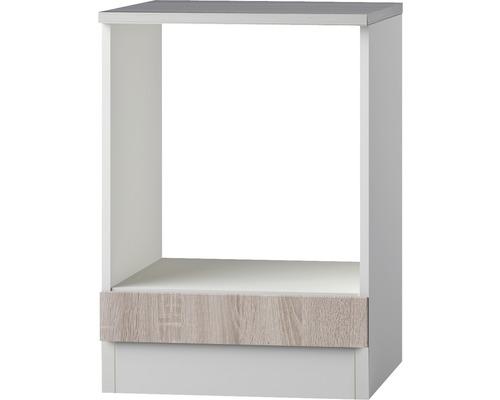 Herdumbauschrank Optifit Padua Nachbildung eiche-hell sägerau sägerau 60x84,8x60 cm