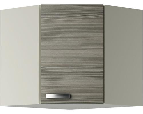 Eck-Hängeschrank Optifit Vigo pinie-fantasie nougat 60x57,6x34,6 cm