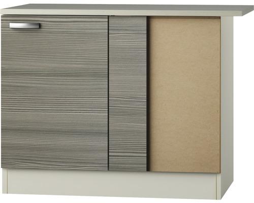 Eck-Unterschrank Optifit Vigo pinie-fantasie nougat 100x84,8x60 cm