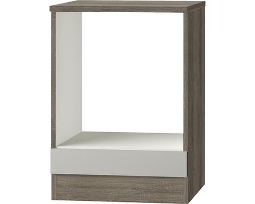 Herdumbauschrank Optifit Arta beige seidenglanz 60x84,8x60 cm