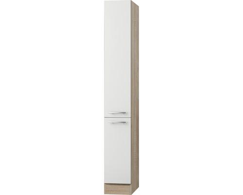 Apothekerschrank Optifit Dakar weiß seidenglanz 30x206,8x57,1 cm