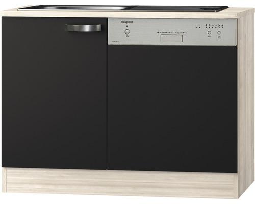 Spülenunterschrank Optifit Faro anthrazit 110x84,8x60 cm