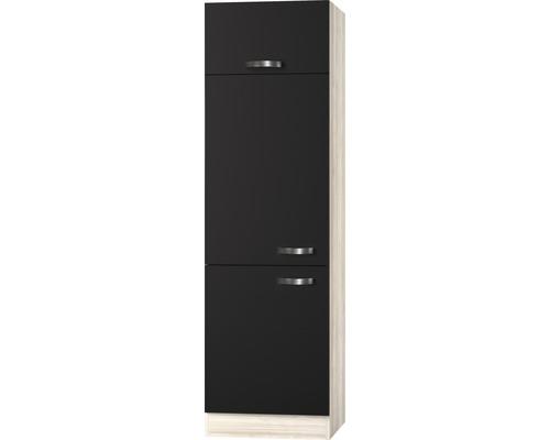 Kühlumbauschrank Optifit Faro anthrazit 60x206,8x57,1 cm