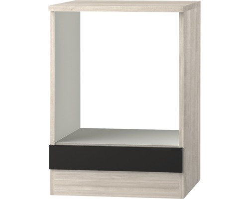 Herdumbauschrank Optifit Faro anthrazit 60x84,8x60 cm