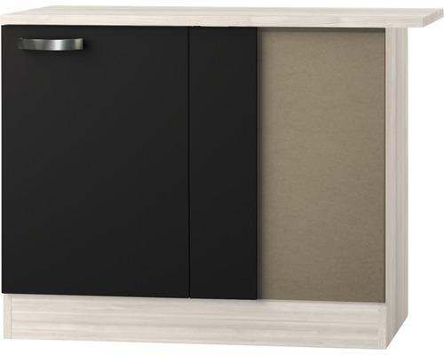 Eck-Unterschrank Optifit Faro anthrazit 100x84,8x60 cm