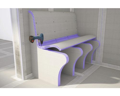 Jackoboard Flexo-Plus längsgeschlizt 15 mm einseitig beschichtet 2600 x 600 x 30 mm