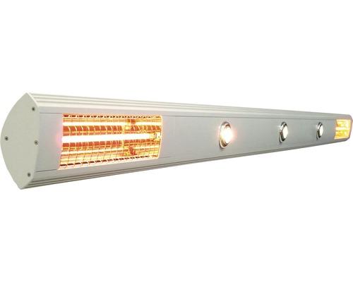 Heizstrahler Soluna L:300 cm 2x 1400 Watt + 4 Spots